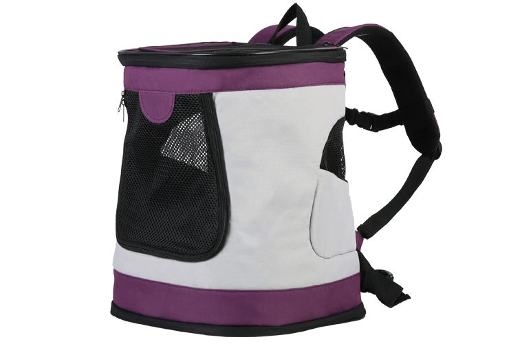 Snuggly Aerated Foldable Luxury Pet Backpack for Dogs and Cats