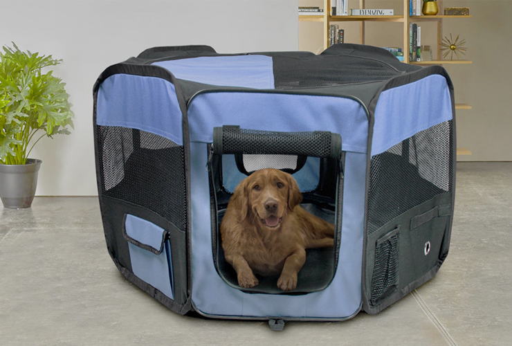 Cozy Ventilated Two-Sided Expandable and Spacious Pet Travel Carrier for Dogs and Cats