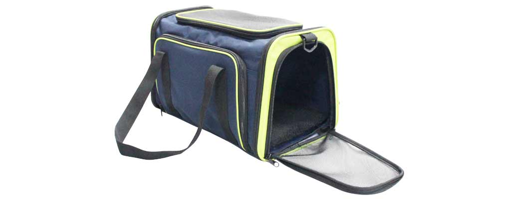 Cozy Ventilated One-Side Expandable Pet Travel Carrier for Dogs and Cats image 3