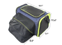 Cozy Ventilated One-Side Expandable Pet Travel Carrier for Dogs and Cats